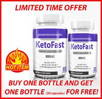 ☀ KETOFAST  ADVANCED WEIGHT LOSS FORMULA   KETOSIS SUPPORT PURE KETO