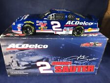 "A2-87 JOHNNY SAUTER #2 AC DELCO ""AUTOGRAPHED"" 2002 CHEVY MONTE CARLO"