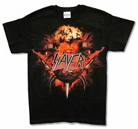 Slayer Red War Black T-Shirt Small S New Official Band Merch