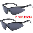 2 Pairs Kids X-Loop Sports Sunglasses Boys Girls 8 Color Available Pick Your Own