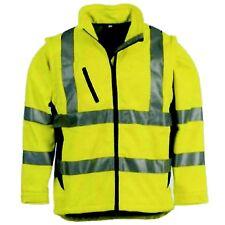 Softshell Warnschutzjacke Warnjacke Jacke Gelb Größe S-XXXL wählbar