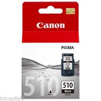 Canon pg-510, PG510 NEGRO ORIGINAL OEM Pixma Cartucho de tinta