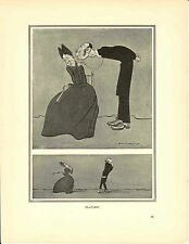 "HM Bateman stampa ""PLATONE"" c1920s"