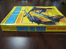 Gun Digest Book of Modern Gun Values 7th Edition Jack Lewis 1989 (496 pgs)
