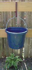 ROPE BUCKET HANGER OLIVE GREEN WITH BLACK NEW STABLE SUPPLY HORSE TACK