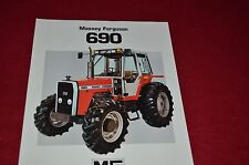 Massey Ferguson 690 Tractor Dealer's Brochure FMD 913-183-25-1