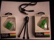 USB + CAR AC Adapter for Casio EX-Z3000 QV-R70 QV-R200 EX-ZR200 EX-ZR15 EX-ZR20