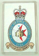 RAF Royal Air Force Station Luqa crested Fridge Magnet