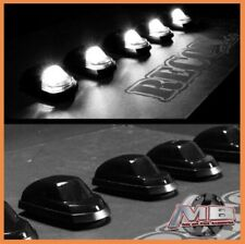 NEW Smoked Tinted white LED cab roof lights 5pc 17-18 Ford F250 F350 super duty