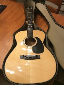 Vintage Kiso Suzuki & Co  WR-100 Acoustic Guitar 1979's Natural Free Shipping.