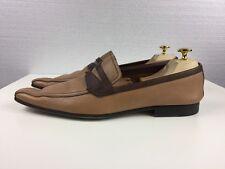 $950 MIU MIU by PRADA Men`s Brown Dress Shoes Size 9 US 10