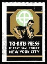 USA Poster Stamp - Tri-Arts Press, New York City - Bradbury # C5797