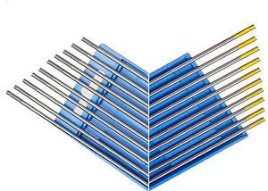 HST Wolfram Elektroden 10 x Grün Grau Gold WIG Nadeln Wolframnadel Elektroden