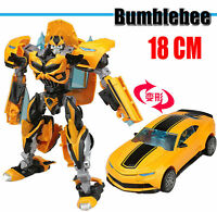"""Kid Toy TF4 Movie Age Of Extinction DELUXE Bumblebee 6"""" Action Figure Sports Car"""