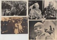 ROYALTY NETHERLANDS  800 Vintage Postcards in 8 Albums in Box Mostly pre-1960