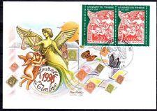 FRANCE FDC - 1998 8 JOURNEE DU TIMBRE - 3136A - LYON -SUR CARTE POSTALE