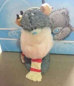 ~ ME TO YOU ~ Tatty Teddy ~ Winter Warmer ~ Figurine ~ New in Box ~ Christmas ~