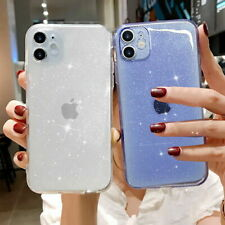 Bling Glitter Case For iPhone 11 7 8 Plus XR  XS Max Clear Soft Shockproof Cover
