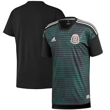 adidas Mexico Fifa Wc World Cup 2018 Elite Training Soccer Jersey Black Green