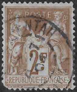 France #108 Used 35% of SCV $40  **FREE Domestic SHIPPING**