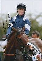 Jim CROWLEY Jockey SIGNED Autograph 12x8 Photo AFTAL COA Royal Ascot Winner