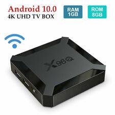X96Q TV Box Android 10.0 Allwinner H313 Quad Core 1G+8GB 4K 3D Media Player WIFI