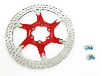 Formula Disc Brake Rotor 6-Bolt 160mm Alloy Carrier Red