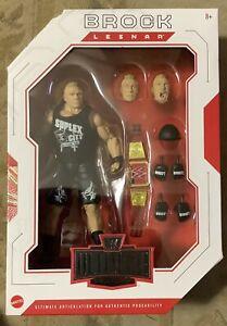 WWE Mattel 2019 WWE Ultimate Edition BROCK LESNAR MIP!