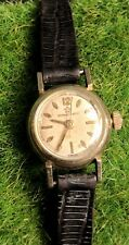 RARE VINTAGE 1950s ETERNA MATIC 14K GOLD FILLED LADIES WATCH Working