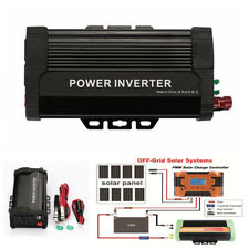 1X Car Solar Power Inverter 1000W Modified Sine Wave Converter Smart Transformer