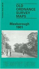Old Ordnance Survey Map Mexborough 1901 Bank St Church St Herbert St Denaby