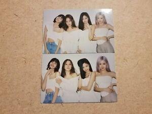 Blackpink Official The Album Target Exclusive Group Photocard Set Kpop