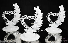 12 CAKE BASE TOPPER STAND FAVORS BIRTHDAY WEDDING QUINCEANERA CENTERPIECE TOPPER