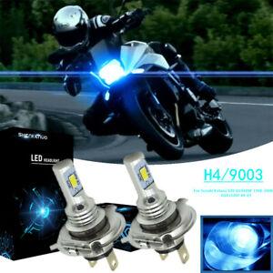 2x H4 LED Headlight Bulb For Suzuki Katana 600 GSX600F 1988-2006 GSX1100F 88-93