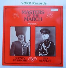 MASTERS OF THE MARCH VOLUME 1 - RODNEY BASHFORD / LEO STANLEY - Ex LP Record DR