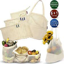 EcoFreaco Reusable Organic Cotten Mesh Produce Bags