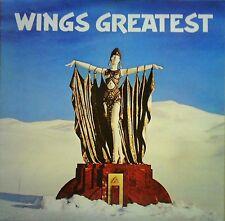 WINGS~PAUL McCARTNEY~WINGS GREATEST~PCTC 256~+INNER & POSTER~EX/EX+