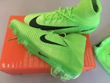 Nike-Mercurial Superfly V FG Football Sock Boot 831940-305 ELECTRIC GREEN UK 9.5