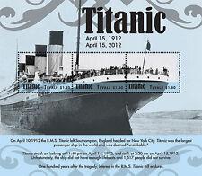 Tuvalu 2012 - R.M.S. 100th Anniversary Titanic - Sheet of 3 MNH