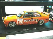 BMW M3 3er E30 DTM 1992 Jägermeister #19 Hahne Team Linder RAR AUTOart 1:18
