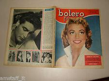 BOLERO=1956/481=DOROTHY MALONE COVER MAGAZINE=ALBERTO FARNESE=FOTOROMANZO=