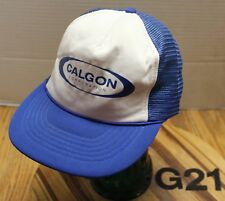 CALGON CORPORATION TRUCKERS STYLE SNAPBACK MESH BACK HAT IN VGC G21