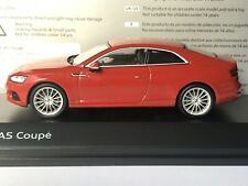 Spark Audi 501.16.054.32 Audi A5 Coupé (F5) 2016 Tangorot  / Tango Red 1:43