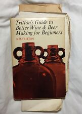 Vtg 1968 Tritton's Guide to Better Wine & Beer Making for Beginners With Recipes