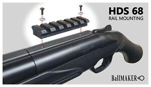 HDS 68 RAM RAIL for mount on the shotgun (weaver, picantinny)
