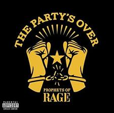 Prophets Of Rage - The Party's Over (NEW CD EP)