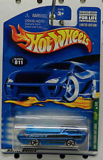 2001 01 T HUNT TREASURE DODGE DEORA SHOW SURF TRUCK MOPAR # 11 HW HOT WHEELS