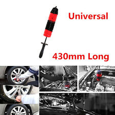 1x 43cm Long Car Motorcycle Grille Wheel Engine Brush Wash Shampoo Cleaning Tool