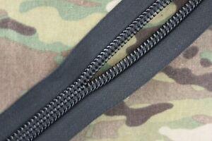 #10 YKK Zipper, AU, Black, Pack, Pouch, Gear, BY THE METRE, Army, Hunting, DIY