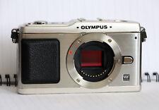 Olympus PEN E-P1 12.3MP Digital Camera - Silver (Body Only)
